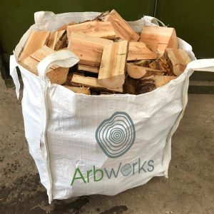 bulk bag of firewood